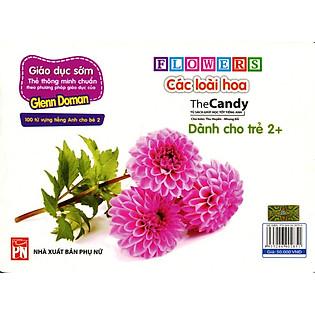 Flashcard Dạy Trẻ Theo Phương Pháp Glenn Doman - Các Loài Hoa