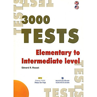 3000 Tests Elementary To Intermediate (Không CD)