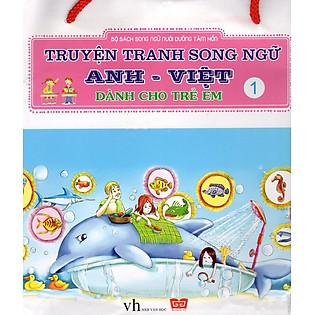 Truyện Tranh Song Ngữ Anh - Việt Dành Cho Trẻ Em (Bộ 1 - 10 Cuốn)
