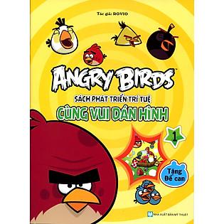 Angry Birds - Sách Phát Triển Trí Tuệ Cùng Vui Dán Hình 1