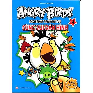Angry Birds - Sách Phát Triển Trí Tuệ Cùng Vui Dán Hình 4
