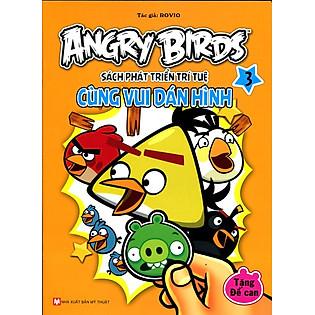 Angry Birds - Sách Phát Triển Trí Tuệ Cùng Vui Dán Hình 3
