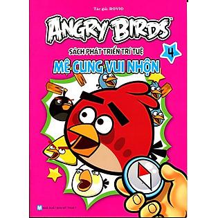Angry Birds - Sách Phát Triển Trí Tuệ Mê Cung Vui Nhộn 4