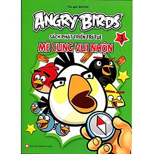 Angry Birds - Sách Phát Triển Trí Tuệ Mê Cung Vui Nhộn 3