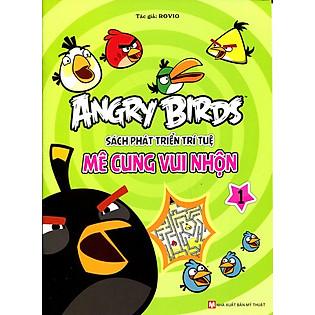 Angry Birds - Sách Phát Triển Trí Tuệ Mê Cung Vui Nhộn 1