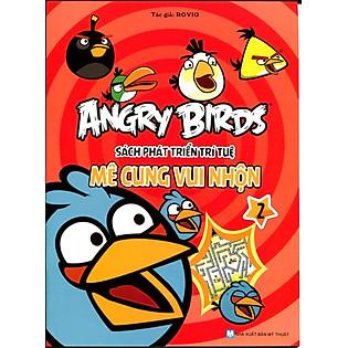 Angry Birds - Sách Phát Triển Trí Tuệ Mê Cung Vui Nhộn 2
