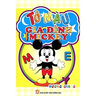 Tô Màu Gia Đình Mickey