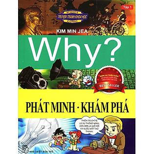 Truyện Tranh Khoa Học Why - Phát Minh Khám Phá (Tập 1)