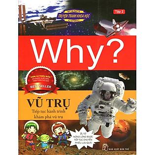 Truyện Tranh Khoa Học Why - Vũ Trụ (Tập 2)