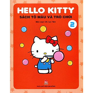 Hello Kitty - Sách Tô Màu Và Trò Chơi (Tập 2)