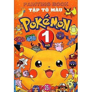 Combo Tô Màu Pokemon (Kèm CD Learn English With Songs Volume 2)