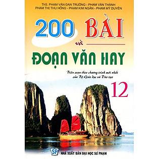 200 Bài Và Đoạn Văn Hay Lớp 12