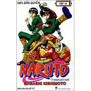 Naruto - Tập 10 (Tái Bản 2015)