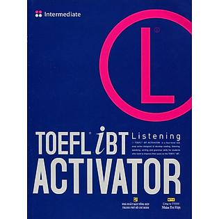 TOEFL Ibt Activator Listening Intermediate (Kèm CD)