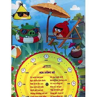 Đồng Hồ Angrybirds Năng Động
