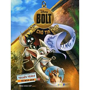 Truyện Tranh Disney - Chú Chó Tia Chớp