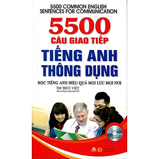 5500 Câu Giao Tiếp Tiếng Anh Thông Dụng ( Kèm CD)