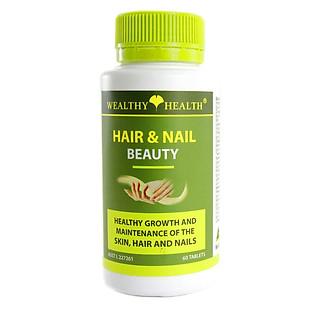 Thuốc Mọc Tóc Và Chăm Sóc Móng WEALTHY HEALTH Hair & Nail Beauty -GIC