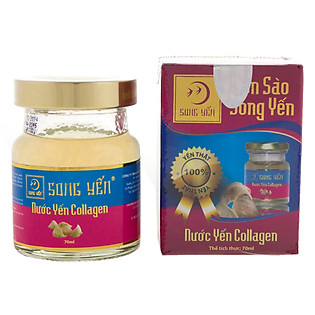 Nước Yến Collagen Song Yến - NYC1 (70Ml)