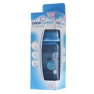 Bình Nhựa Bebe Confort Evidence Cổ Rộng (270Ml) - Xanh