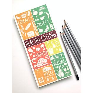 Sổ Tay Kraft Papermix - Healthy Eating