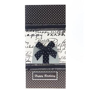 Thiệp Lovely Lace Moof Handmade 1976 - Happy Birthday Mẫu 1