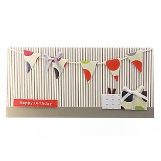 Thiệp Lovely Lace Moof Handmade 1976 - Happy Birthday Mẫu 2
