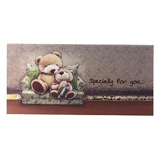 Thiệp Lovely Lace AEIOU Printing 0583 - Happy Birthday Mẫu 2