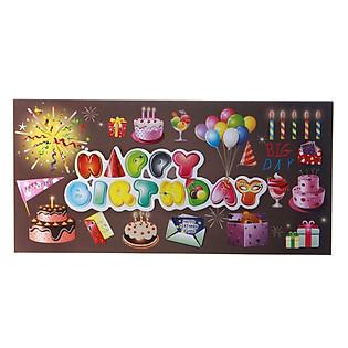 Thiệp Lovely Lace AEIOU Printing 0583 - Happy Birthday Mẫu 8
