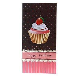 Thiệp Lovely Lace AEIOU Printing 0583 - Happy Birthday Mẫu 10