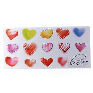 Thiệp Lovely Lace AEIOU Printing 0583 - Love Mẫu 1