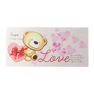 Thiệp Lovely Lace AEIOU Printing 0583 - Love Mẫu 3