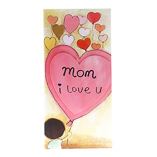 Thiệp Lovely Lace AEIOU Printing 0583 - Mom I Love You