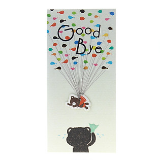 Thiệp Lovely Lace AEIOU Printing 0583 - Goodbye