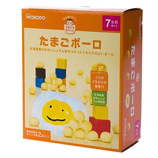 Bánh Trứng Bolo Wakodo (Cho Bé 7 Tháng) - T13