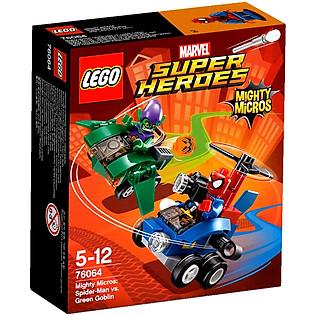 Mô Hình LEGO Super Heroes - Người Nhện Đại Chiến Green Gobl 76064 (85 Mảnh Ghép)