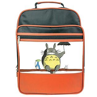 Balo PS Thời Trang Totoro (Đen - Da Bò)