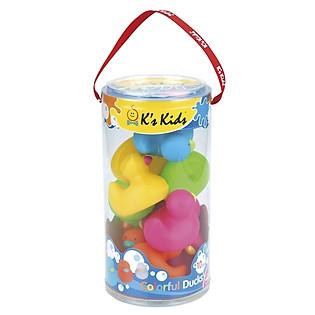 Bộ Đồ Chơi Nhà Tắm Hình Chú Vịt K'S Kids - KA10554-PB