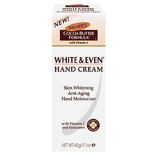 Kem Dưỡng Trắng Da Tay PALMER's White And Even Age Spot Hand Cream - 4519 (60G)