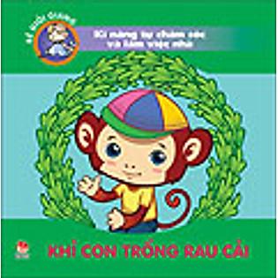 Bé Giỏi Giang - Khỉ Con Trồng Rau Cải