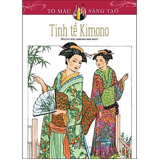 Tô Màu Sáng Tạo - Tinh Tế Kimono