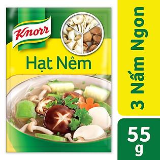 Hạt Nêm Knorr 3 Nấm Ngon (55G) - 21125682