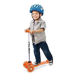 Xe Trượt Scooter Trẻ Em Kismo Màu Cam - KS8001SO