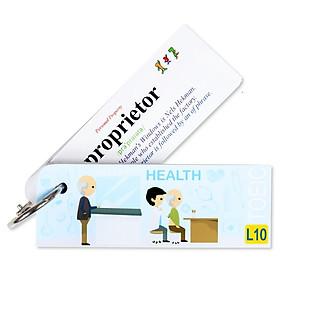 Flashcard Health Best Quality (L10)
