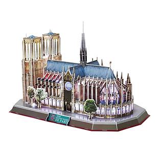 Mô Hình 3D - Notre Dame De Paris (LED) - L173H