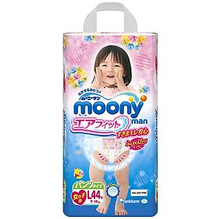 Tã Quần Bé Gái Moony L44