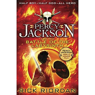 Percy Jacson And The Battle Of Labbyrintrh (Paperback)