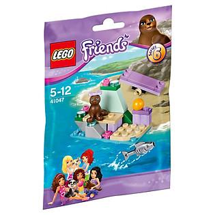 Mô Hình LEGO Friends Hòn Đá Của Hải Cẩu (37 Mảnh Ghép) - 41047
