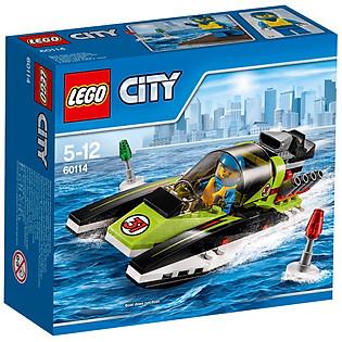 Mô Hình LEGO City Great Vehicles - Thuyền Đua 60114 (95 Mảnh Ghép)