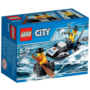 Mô Hình LEGO City Police - Rượt Đuổi Tội Phạm 60126 (47 Mảnh Ghép)